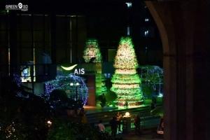 ว้าวๆ ครั้งแรกในไทย! ต้นคริสต์มาสจากขยะอิเล็กทรอนิกส์