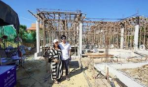 """""""ชมพู่ ก่อนบ่ายฯ"""" สุดภูมิใจ สร้างบ้านหลังใหม่ที่เป็นอีกหนึ่งความฝัน"""
