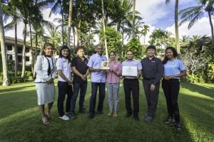 เจดับเบิ้ลยู แมริออท ภูเก็ต คว้ารางวัลโรงแรมที่เป็นมิตรกับสิ่งแวดล้อม ปี 2562 ระดับทองดีเยี่ยม จาก Green Hotel Award