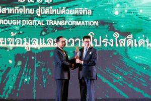กรุงไทยได้รางวัลเปิดเผยข้อมูลและความโปร่งใสดีเด่น ต่อเนื่องเป็นปีที่ 4