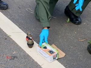 พบระเบิดสังหาร 2 ลูกวางทิ้งไว้ริมถนนสาย 418 จ.ยะลา