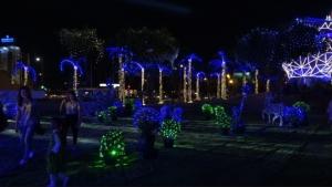 """""""สวนเรืองแสงประตูเมืองขอนแก่น"""" พร้อมให้นักท่องเที่ยวชมความงามแล้ว"""