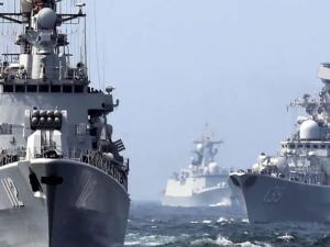สหรัฐฯสะดุ้ง!!3อริศัตรู'จีน,อิหร่าน,รัสเซีย'ผนึกกำลังซ้อมรบทางทะเล