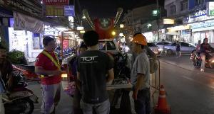 ทีโอที เล็งตรวจบ่อสายสื่อสารทั่วลำปาง หลังท่อร้อยสายบึ้มครั้งแรกในประเทศ