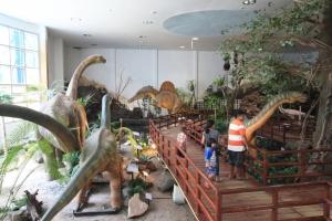 สวนไดโนเสาร์ในพิพิธภัณฑ์