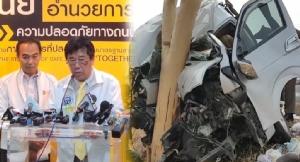 ยอด 2 วันปีใหม่เซ่นอุบัติเหตุ 109 ราย สั่งเข้มทุกเส้นทาง ระวังรถจอดไหล่ทาง