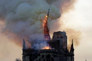 ไฟไหม้มหาวิหารน็อทร์-ดามแห่งกรุงปารีส