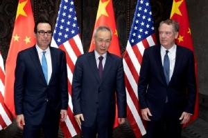 สื่อตีข่าวรองนายกฯจีนเยือนสหรัฐฯสัปดาห์นี้ ร่วมลงนาม'ข้อตกลงการค้าเฟส1'