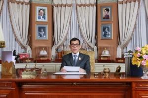 พระบาทสมเด็จพระเจ้าอยู่หัว ทรงมีพระราชดำรัสพระราชทานพรแก่ประชาชนชาวไทยในโอกาสขึ้นปีใหม่ 2563