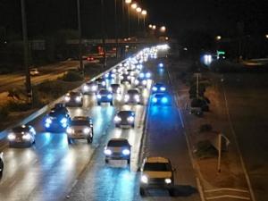 ประชาชนแห่เดินทางกลับเข้ากรุงฯ ถนนสายเอเชียเป็นอัมพาตใช้ความเร็วได้ไม่เกิน 60 กม./ชม.