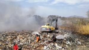 สถานการณ์ไฟไหม้บ่อขยะยังน่าเป็นห่วง แนะประชาชนออกนอกพื้นที่ พบบางจุดมีค่ามลพิษสูง