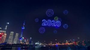 ปีใหม่เทียม!!แฉแปรขบวนโดรนต้อนรับ2020ในจีนไม่มีจริง อัดเทปไว้ล่วงหน้า(ชมคลิป)