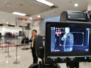 """สนามบินเชียงใหม่ติดเครื่องคัดกรองผู้โดยสารเที่ยวบินจาก """"อู่ฮั่น""""สกัดโรคปอดอักเสบระบาด"""