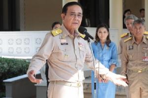 """""""บิ๊กตู่"""" วอนหยุดพูดให้เกลียดชัง คนไทย 60 กว่าล้านเสียประโยชน์ เผยคิดหนักทั้งวันแก้ปัญหาให้ประเทศ"""