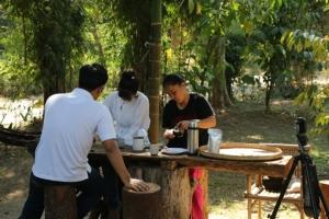"""ชวนจิบ """"กาแฟสด"""" รสชาติดีถึงสวนของชาวบ้านสะเนพ่อง อีกหนึ่งทางเลือกของคอกาแฟ"""