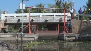 ชลประทานยืนยันสามารถป้องกันน้ำเค็มทะลักเข้าคลองในราชบุรีได้