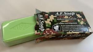 """รู้จักสบู่ทหาร """"A.F. Soap"""" กล่องลายพราง ไม่มีขายตามท้องตลาดทั่วไป"""