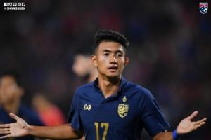 """AFC เผย """"ศุภณัฏฐ์"""" สร้างสถิติประเดิมศึก U23 ชิงแชมป์เอเชีย"""