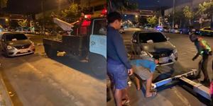 ไม่ต้องทุบรถ! เผยวิธีจัดการพวกจอดรถหน้าบ้าน เรียกตำรวจยกรถ-ล็อกล้อจ่ายค่าปรับ