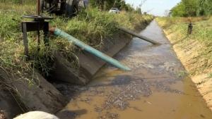 แล้งหนัก! หลายหมู่บ้านขาดน้ำทำประปา เร่งระบายน้ำช่วย