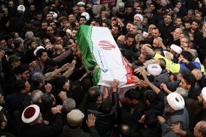 ศพของพลตรีกอเซ็ม สุไลมานี ผู้บัญชาการทหารอาวุโสอิหร่าน