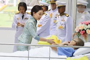 เจ้าฟ้าพัชรกิติยาภาฯ เสด็จแทนพระองค์พระราชทานเครื่องมือแพทย์ตามโครงการราชทัณฑ์ ปันสุข ทำความ ดี เพื่อชาติ ศาสน์ กษัตริย์