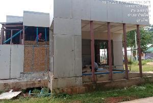 แฟ้มภาพอาคารที่ก่อสร้างไม่เรียบร้อยในโครงการเน็ตชายขอบ