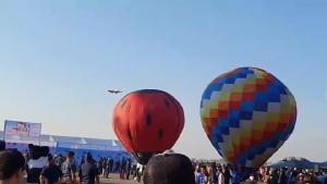 น้องๆ หนูๆ คึกคักร่วมงานวันเด็ก กองบิน 41 ตื่นตาตื่นใจชมเครื่องบิน-บอลลูนใกล้ชิด
