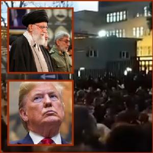 """In Clip : อิหร่านระอุ! ปชช.เรียกร้องให้ """"คาเมเนอี"""" ลาออก ทรัม์ปทันควันทวีตภาษาฟาร์ซี """"ขออยู่เคียงข้างผู้ประท้วง"""""""