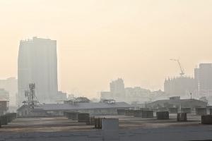 ไม่ถูกสุขภาพ ค่าฝุ่น PM 2.5 มีแนวโน้มสูงต่อเนื่อง ฝุ่นพิษ กทม.เกินค่ามาตรฐาน 27 พื้นที่