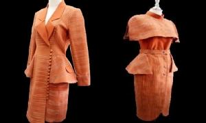 นักวิจัย มทร.ธัญบุรี พัฒนาลวดลายและออกแบบชุดจากดินภูเขาไฟ