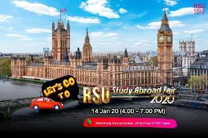 RSU Study Abroad ม.รังสิต จัดงาน RSU Study Abroad Fair 2020