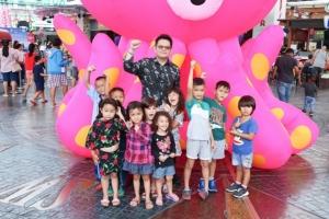 จังซีลอน ป่าตอง ส่งมอบความสุขให้เด็กๆ กับเหล่าผู้พิทักษ์มหาสมุทรตัวจิ๋ว ในวันเด็กแห่งชาติ