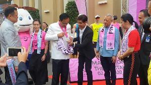 """""""บิ๊กตู่"""" อวยพรตรุษจีนขอคนไทยมีความสุข ชวนวิ่งมาราธอน ส่งเสริมการท่องเที่ยว"""