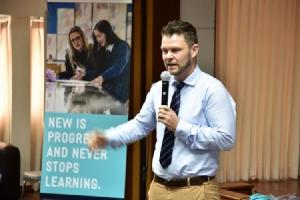 การศึกษานิวซีแลนด์ ร่วมกับ สพม. 4 เปิดห้องเรียนจำลองสัญจร