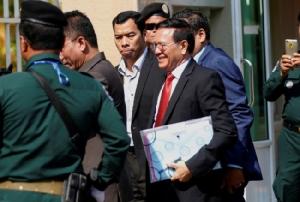 กลุ่มสิทธิมนุษยชนวิจารณ์หนัก ศาลเขมรเริ่มไต่สวนคดีกบฏกับ หน.พรรคฝ่ายค้าน