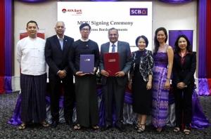 SCB จับมือเอยาวดี พม่า เปิดชำระและโอนเงินระหว่างประเทศ