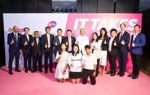 """""""ออมสิน-อีเอ"""" หนุนหวดเทนนิสไทยแลนด์ โอเพ่น 2020 - มือ5โลก ร่วมบู๊"""