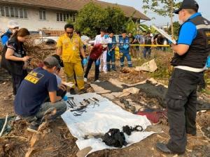 """พบชิ้นส่วนมนุษย์เพิ่มอีก 2 ศพ ในบ่อน้ำบ้าน """"ไอซ์หีบเหล็ก"""""""