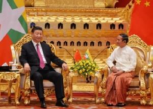 'สี จิ้นผิง' ให้คำมั่นเดินหน้าสู่ยุคใหม่แห่งความสัมพันธ์กับพม่า
