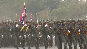 สุดยิ่งใหญ่สง่างามสมพระเกียรติ ทหาร-ตำรวจ 6,812 นาย พร้อมใจสามัคคี สวนสนามครั้งแรกในรัชกาล
