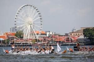 """""""กลุ่มโรงแรมอนันตรา"""" จัดชิงความเป็นหนึ่ง """"เรือยาวช้างไทย"""" ครั้งที่ 2 พร้อมเทศกาลริมน้ำเจ้าพระยา"""
