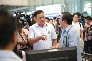 """""""อนุทิน"""" มั่นใจระบบคัดกรองไทย แม้จีนประกาศไวรัสอู่ฮั่นติดต่อจากคนสู่คน"""