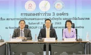 3 องค์กรเผยจีนขึ้นแท่นตลาดส่งออกอาหารไทยอันดับ 1 แซง CLMV ครั้งแรกเป็นประวัติการณ์