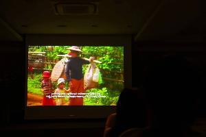 """ประชาคมไทใหญ่ตั้งจอฉายหนัง """"THE FOUR CUTS : ปีมหานรก"""" ก่อนศาลโลกชี้ขาดคดีล้างเผ่าพันธุ์โรฮิงญา"""