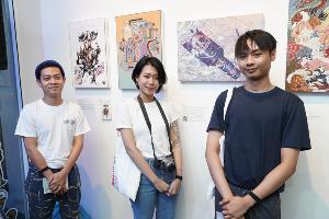ครั้งแรกของเมืองไทย!! นิทรรศการ 2D Visual Art สุดคราฟท์