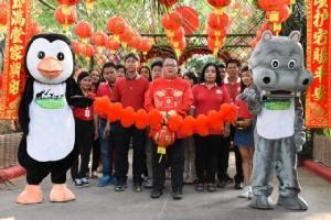 สวนสัตว์เปิดเขาเขียวชวนฉลองตรุษจีนปีหนูทอง ชวนลอดซุ้มมังกรแห่งโชคลาภ