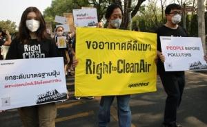 """กรีนพีซออกแถลงการณ์ """"พอกันที #ขออากาศดีคืนมา"""" นำ 8 องค์กรร้องรัฐแก้วิกฤตฝุ่น PM2.5จริงจัง ทันที"""