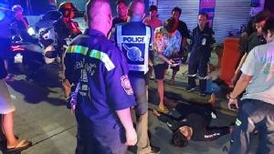 หนุ่มเมาฉุดสาวคาราโอเกะเข้าห้องน้ำพลเมืองดีห้ามถูกแทงเจ็บสาหัส