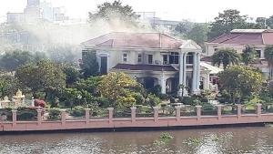 ไฟไหม้บ้านนักธุรกิจชื่อดังนนทบุรีรับตรุษจีน เสียหายกว่า 1 ล้านบาท